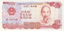 BILLET # VIET NAM  # 1988 # 500 DONGS # PICK 89  # BILLET NEUF # - Vietnam
