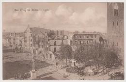 Lyck, Ostpreußen, Der Krieg Im Osten - Pologne