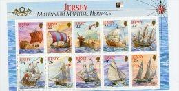 Jersey 2000-Stamp London-Bateaux--YT B29***MNH - Barche