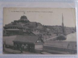 SAINT MALO  LA GARE DES TRAMWAYS LE CASINO - Saint Malo
