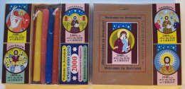 Collection Of Jesus Christ Matchboxes, #0209 - Religion & Esotericism