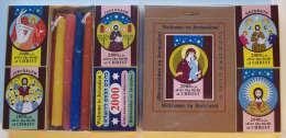 Collection Of Jesus Christ Matchboxes, #0209 - Religion & Esotérisme