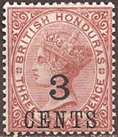 BRITISH HONDURAS..1888..Michel # 22...MLH. - British Honduras (...-1970)