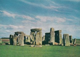 Stonehenge. Wiltshire.  From The South-west.   # 0666 - Dolmen & Menhirs