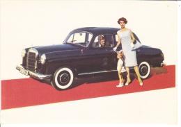 Mercedes-Benz 180D  -  Official Mercedes Advertising Postcard - Turismo