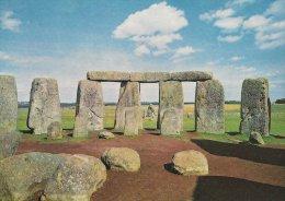 Stonehenge. Wiltshire.  View Looking East.    # 2941 - Dolmen & Menhirs