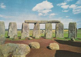 Stonehenge. Wiltshire.  View Looking East.    # 2942 - Dolmen & Menhirs