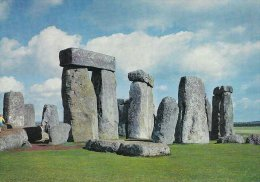 Stonehenge. Wiltshire.  View Looking  North-east Showing Trilithons 53-4 And 51-2      # 2943 - Dolmen & Menhirs