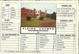 Porcheresse - en - Condroz -- Pleins  Champs.    (2 scans)