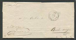 1864  RARA  PREFILATELICA DA  GALLARATE  X BUSTO ARSIZIO VARESE - 1. ...-1850 Prefilatelia