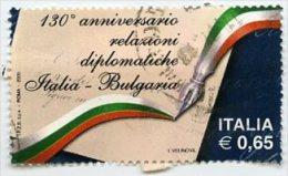 Italia 2009 Anniversario Delle Relazioni Diplomatiche Italia Bulgaria € 0,65 Us (1) - 2001-10: Usati