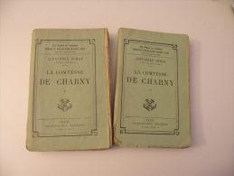 La Comtesse De Charny - Alexandre Dumas - édit Carlmann Lévy ( Lot 2 Livres ) - 1901-1940