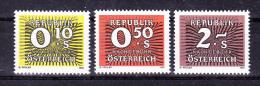 AUSTRIA   1986 ,    Y&T  Taxe  #  258/0  Cv  1.00 E , **  M N H , V V F - Segnatasse