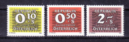 AUSTRIA   1986 ,    Y&T  Taxe  #  258/0  Cv  1.00 E , **  M N H , V V F - Postage Due