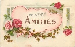 48 - Amitiés De Mende -  Lozère - Bel Etat - ( Voir Scans ) - Mende