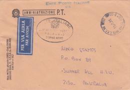Italy 1995 Prepaid Cover Sent To Australia - 6. 1946-.. Republic