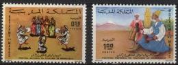Maroc 0680/681 ** Serie Completa. 1973. - Maroc (1956-...)