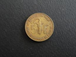 1984 - 5 Francs Afrique De L´Ouest - Otros – Africa