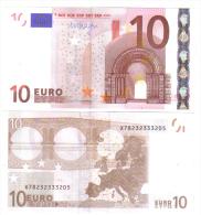 GERMANIA GERMANY 10 € X MARIO DRAGHI E006F3 COD.€.131 - EURO
