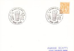 1986 Belgium Liege Biere Bier Beer Birra Cerveza - Beers