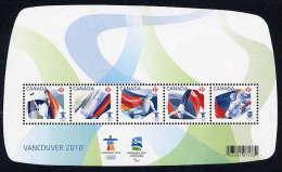 CANADA 2009 Winter Olympics: Vancouver Block  MNH / **.  Sc. 2299 - 1952-.... Reign Of Elizabeth II