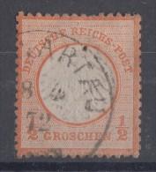 DR Minr.14 Plf.III Gestempelt - Deutschland
