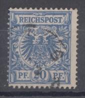 DR Minr.48bb Gestempelt Geprüft Wiegand BPP - Deutschland