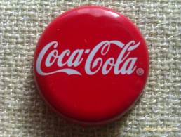 Chapa Kronkorken Cap Tappi Coca Cola. Alemania - Chapas Y Tapas