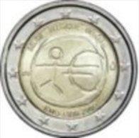 2 EURO COMMEMORATIVE 2007 FINLANDE TRAITE DE ROME PIECE (UNC ) NEUVE - Finnland