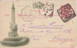 Inaugurazione Del Monumento Delle Cinque Giornate Milano 1895.  10000 Esemplari Numerati - Inaugurazioni