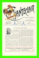 JOURNAL BI-MENSUEL CHANTECLAIR - No 114, DÉCEMBRE 1912 -(2) - NUIT DE NOEL AU PAYS BASQUE PAR PIERRE LOTI - DR. DELAUNAY - Books, Magazines, Comics