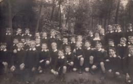 Fotokaart Carte Photo Klasfoto Gilly-Haies Lez Charleroi Pensionnat St Joseph 1923 - Charleroi