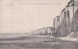 YPORT Perspective Des Falaises De Yport à Fécamp (1912) - Yport