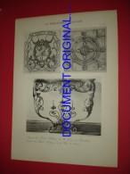 LA FERRONNERIE FRANÇAISE XVIIe Et XVIIIe -  Impostes(Collection De M. Lesecq Des Tournelles)Console ( à La Paris ) - Other Plans