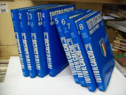 Enciclopedia Tutto Il Calcio Minuto Per Minuto (European Book Milano 1990)  N. 1/8  Volumi - Enciclopedie