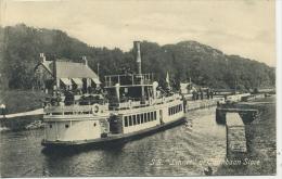 SS LINNET AT CAIRNBAAN STORE (ARGYLL) - Steamers