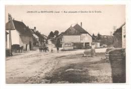 Andelot-en-Montagne  -  Rue Principale Et Quartier De La Sourde. - Unclassified