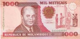 BILLETE DE MOZAMBIQUE DE 1000 METICAIS DEL AÑO 1991 (BANKNOTE) SIN CIRCULAR-UNCIRCULATED - Mozambique