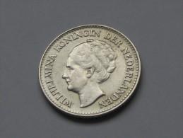 1/2 Gulden 1930 Netherlands - Pays Bas - Wilhelmina  Koningin Der Nederlanden - **** EN ACHAT IMMEDIAT **** - [ 3] 1815-… : Kingdom Of The Netherlands