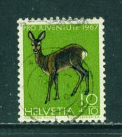SWITZERLAND - 1967  Pro Juventute  10+10c  Used As Scan - Pro Juventute