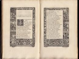 1856 - L'Alphabet De La Mort De Hans Holbein Entouré De Bordures Du XVIe Siècle Et Suivi D'anciens Poèmes Français - 1801-1900