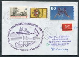 1978 Germany USA Argentina Nordenham Paquebot Antarctic Ship Expedition Penguin Cover - [7] Federal Republic