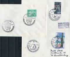 1976 - 78 Potsdam DDR Antarktis Expedition Polar Penguin X 3 Covers - [6] Democratic Republic