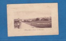 CPA - MEREVILLE - Entrée De Renonval - Vieux Métier - Berger Et Ses Moutons - Mereville