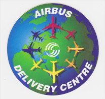 Autocollant Airbus - Delivery Centre - Aufkleber