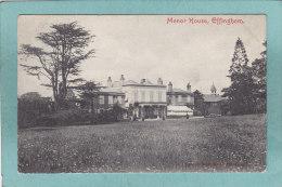 EFFINGHAM  -  MANOR  HOUSE  -  1908  - - Surrey