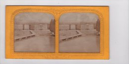 """Photographie Stéréo : Genève , Vue """" à La Lumière """"  ( Vers 1870 ? ), - Stereoscopio"""