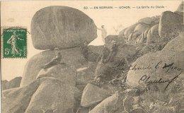CPA-1910-71-UCHON-La GRIFFE Du DIABLE-TBE - Francia