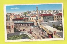 CPA JAFFA Market Place , Le Marche , Carte Colorisee , Israel - Israel
