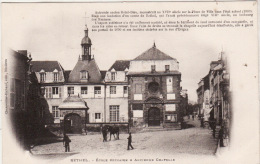 RETHEL- Cours Primaire Et Ancienne Chapelle - Rethel